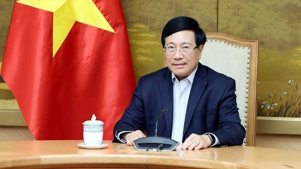 政府副总理范平明与美国国家安全顾问杰克·沙利文通电话 hinh anh 1