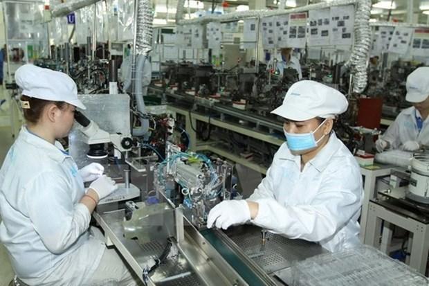 胡志明市工业生产指数出现复苏迹象 hinh anh 1