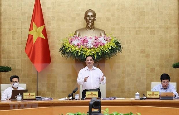 政府6月例行会议:越南尚无调整经济增长目标 hinh anh 1