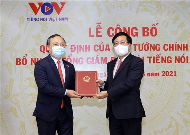 杜进士同志任越南之声广播电台台长 hinh anh 1