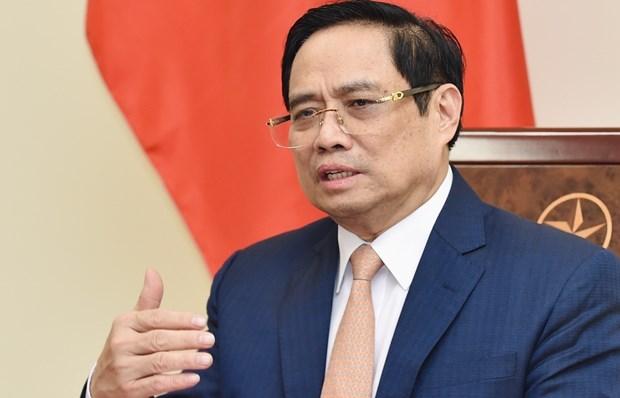 越南政府总理范明政与古巴总理马雷罗通电话 hinh anh 1