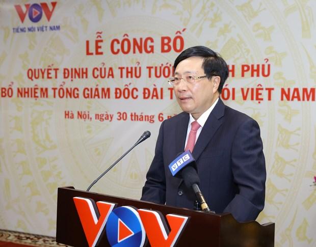 杜进士同志任越南之声广播电台台长 hinh anh 2