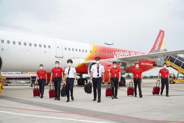 7月7日越捷推出大规模促销活动 从河内起飞的乘客可享受 77% 的折扣 hinh anh 1