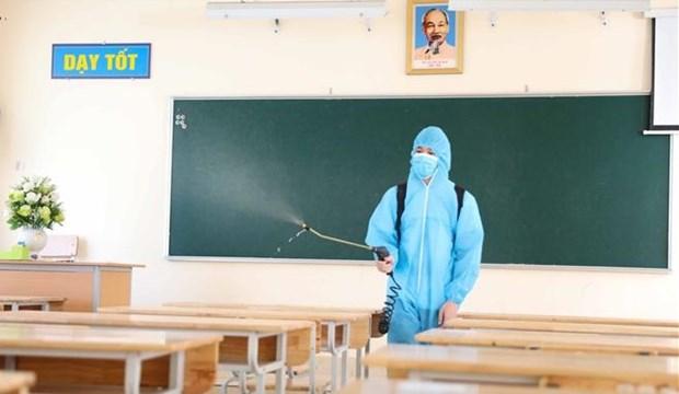河内教育培训局提议7月10日重新开学 hinh anh 1
