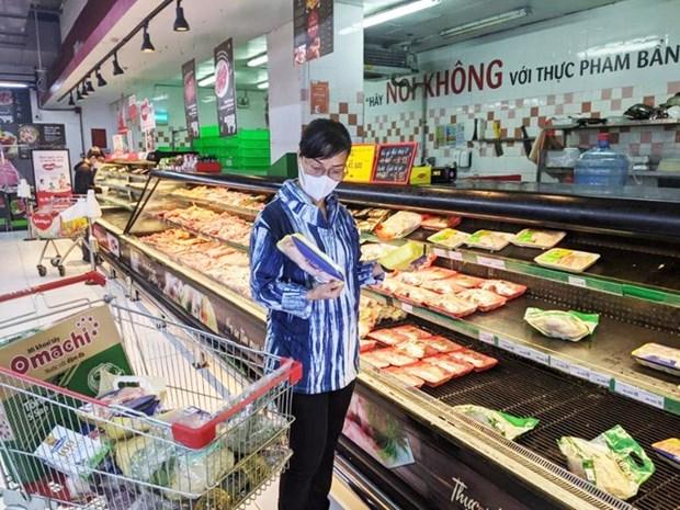 胡志明市多个市场和超市重新开门营业 hinh anh 1