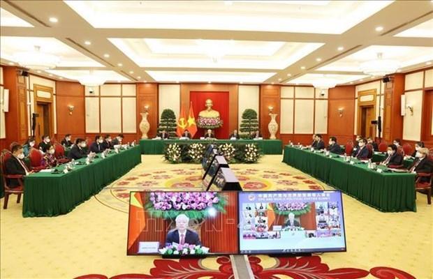越共中央总书记阮富仲出席中国共产党与世界政党领导人峰会 hinh anh 2