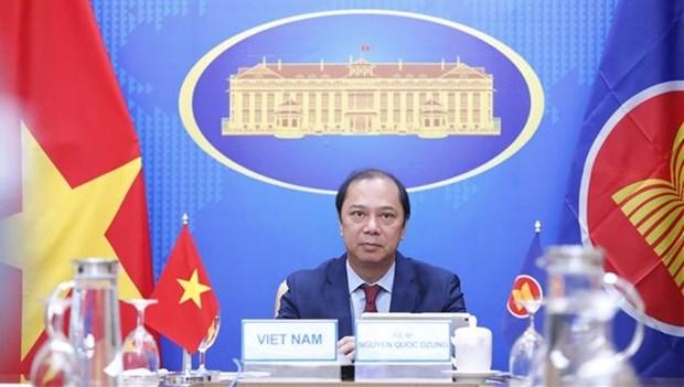 第25次东盟-韩国副外长级年度对话会以视频方式举行 hinh anh 1