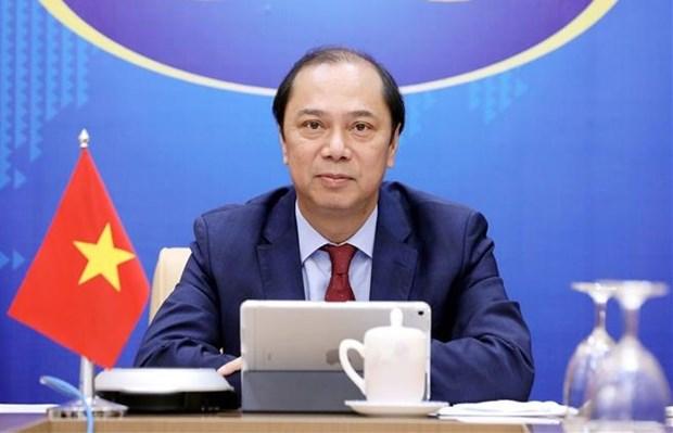 越南副外长阮国勇出席印度洋-太平洋工商峰会 hinh anh 1