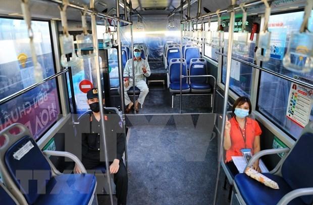 河内暂停前往14个省市的客运服务 hinh anh 1