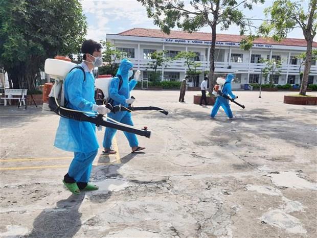 新冠肺炎疫情:卫生部出动近1万名医务人员支援胡志明市 hinh anh 2
