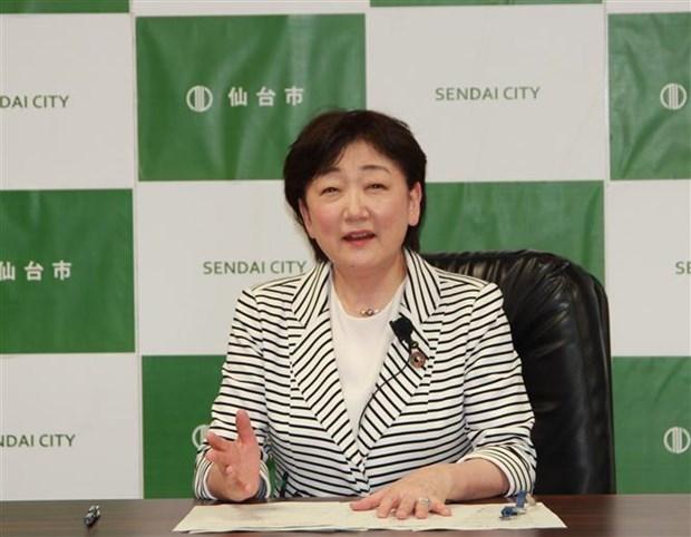 日本宫城省仙台市长建言 帮助越南提高防灾减灾能力 hinh anh 1