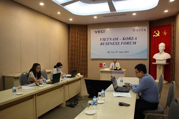 诸多韩国企业对越南市场特别感兴趣 hinh anh 1