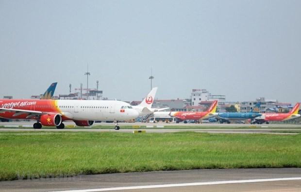 越南航空局建议限制从胡志明市飞往河内旅客量 最多每日1700座 hinh anh 1