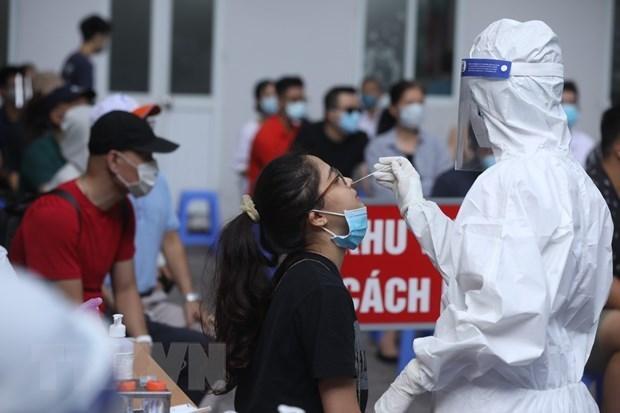 越南卫生部调整胡志明市返乡人员的医学隔离观察期 hinh anh 1
