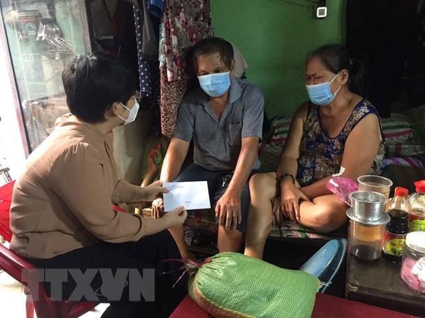 疫情期间胡志明市为困难群众推出专项救助计划 hinh anh 1