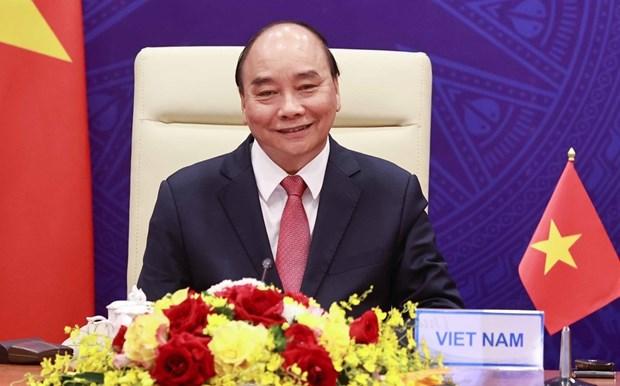 越南国家主席阮春福将出席以视频形式举办的亚太经合组织领导人非正式会议 hinh anh 1