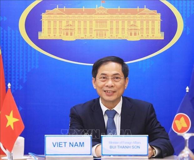 越南外交部门立足实际 狠抓落实政府的优先事项和越共十三大的外交政策 hinh anh 2