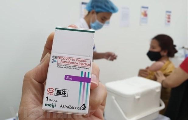日本继续向越南捐赠 100 万剂新冠疫苗 hinh anh 1