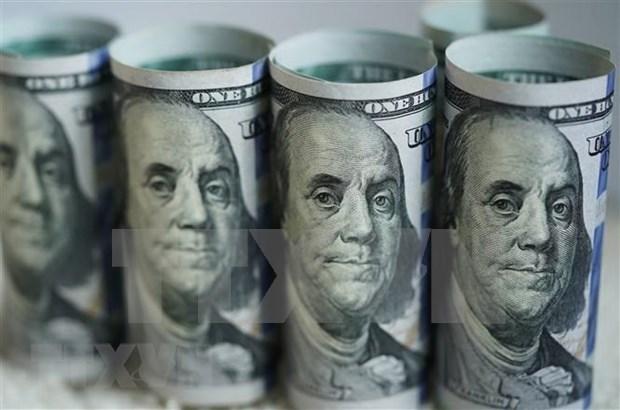 7月14日上午越盾对美元汇率中间价下调3越盾 hinh anh 1