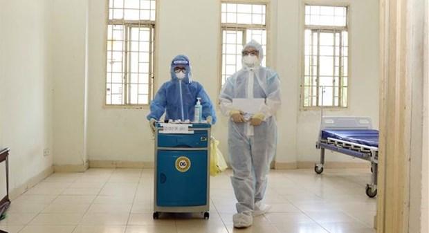 7月14日上午越南新增905例本土确诊病例和2例死亡病例 hinh anh 1