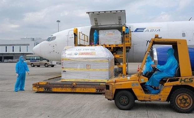 越南军队预计将接收和运输约1.129亿剂新冠疫苗 hinh anh 1