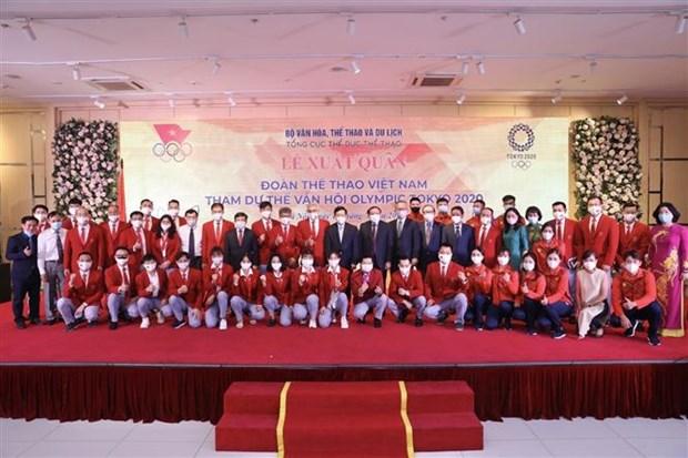 越南奥运代表团7月18日将启程参加2020年东京奥运会 hinh anh 2