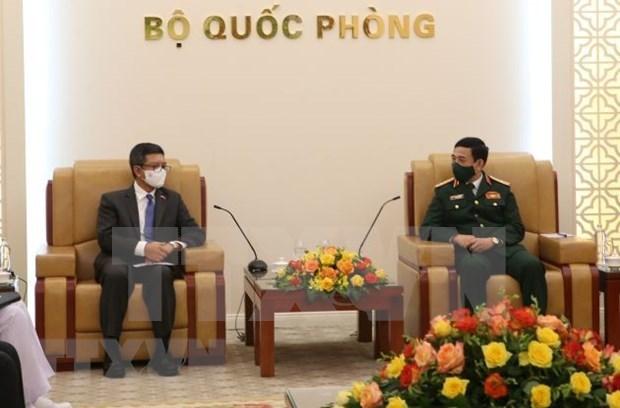 越南与印尼深化防务合作 hinh anh 1