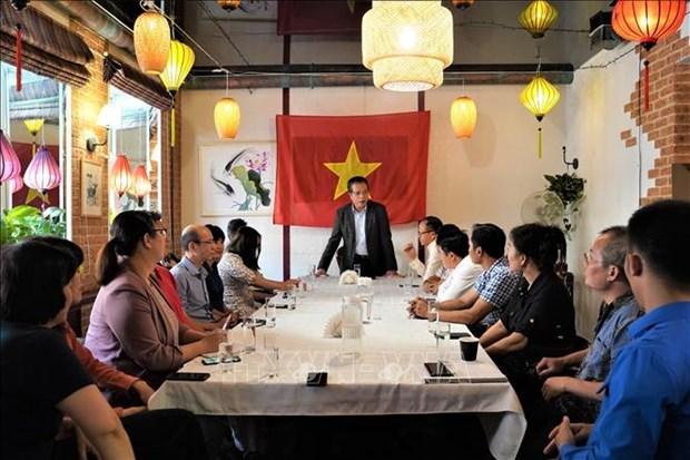俄罗斯圣彼得堡与越南各地方促进合作 hinh anh 2