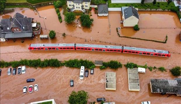 越南领导人就德国遭受洪水袭击向德国领导致慰问电 hinh anh 1