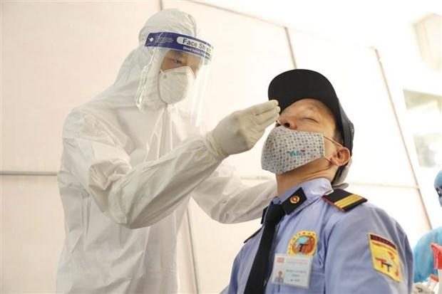 7月17日上午越南新增2106例新冠肺炎确诊病例 hinh anh 1