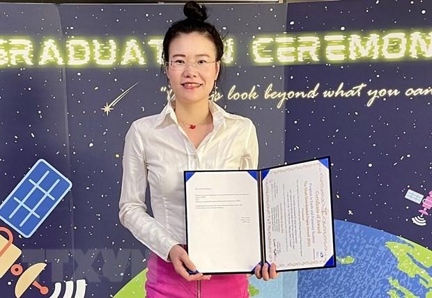 越南女博士荣获有关盐渍化国际奖 hinh anh 2