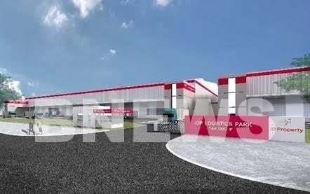 设在隆安省的JD Property Logistics Park仓储项目将于第四季度竣工 hinh anh 1