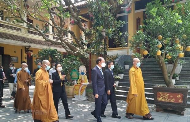 越南佛教协会呼吁全国僧尼和佛教徒实施禁足措施 祈求平安 早日击退疫情 hinh anh 1
