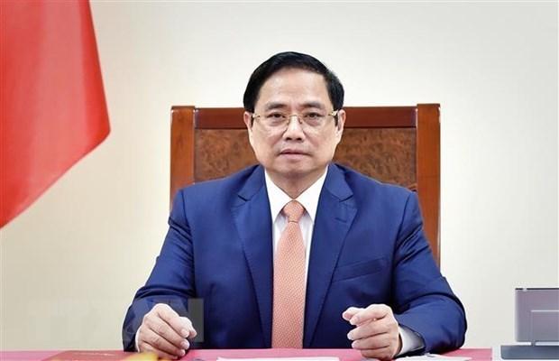 越南政府总理范明政与菲律宾总统罗德里格·杜特尔特通电话 hinh anh 1