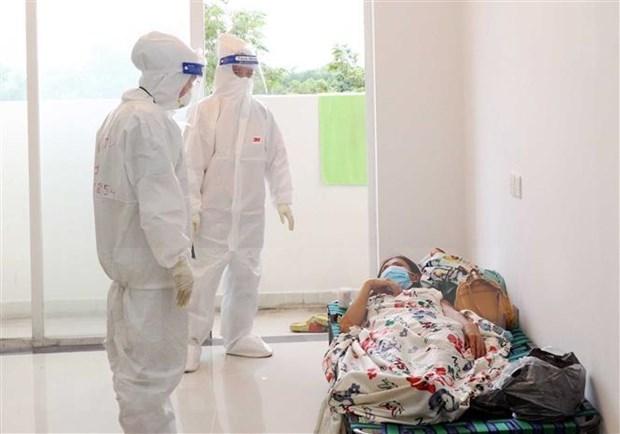 胡志明市领导要求不得拒绝接收新冠肺炎患者 hinh anh 1