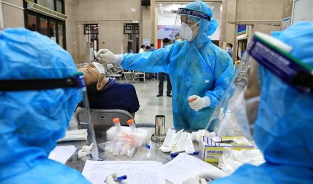 7月20日上午越南新增2155例新冠肺炎确诊病例 hinh anh 1