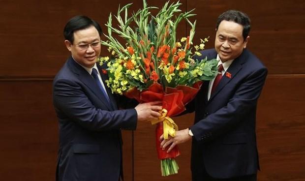 王廷惠同志当选第十五届国会主席 hinh anh 1