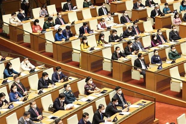 越南第十五届国会第一次会议讨论诸多重要内容 hinh anh 2