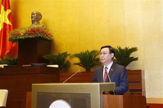 越南第十五届国会第一次会议隆重开幕:为第十五届国会奠定前提并注入强有力动力 hinh anh 2