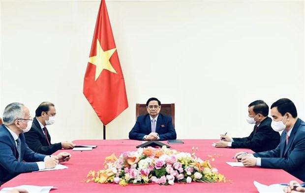 越南政府总理范明政与菲律宾总统罗德里格·杜特尔特通电话 hinh anh 2