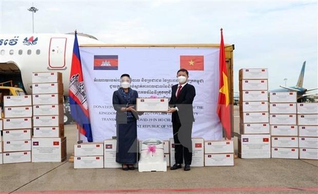 范明政向柬埔寨首相洪森致感谢信 高度评价柬方对胡志明市抗疫工作的援助 hinh anh 1