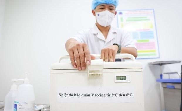 日本国际协力机构向越南提供1600台疫苗冷藏箱 hinh anh 2