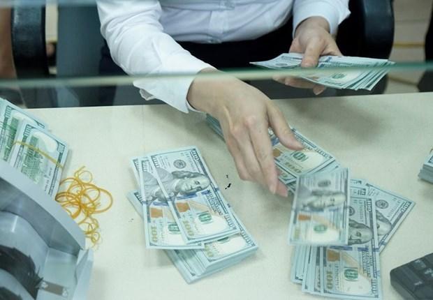 7月21日上午越盾对美元汇率中间价下调4越盾 hinh anh 1