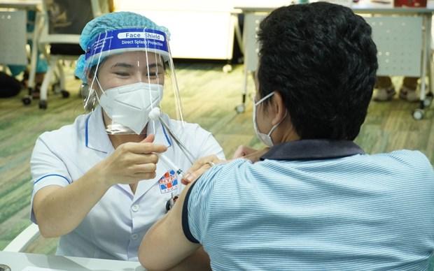 新冠肺炎疫情:胡志明市将开展第五次新冠疫苗接种工作 hinh anh 1