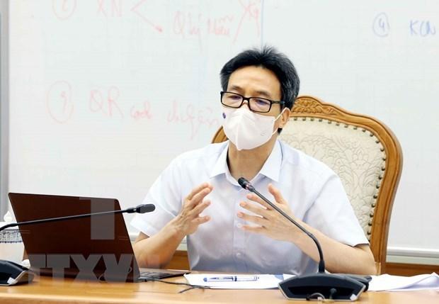 武德澹副总理:胡志明市应尽快将所有确诊病例进行隔离 hinh anh 1