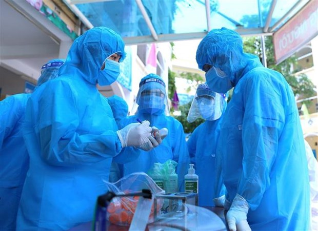 胡志明市在各地方设立新冠患者集中隔离点 hinh anh 2