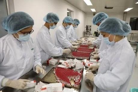 俄罗斯卫星五号疫苗开始在越南生产 hinh anh 2