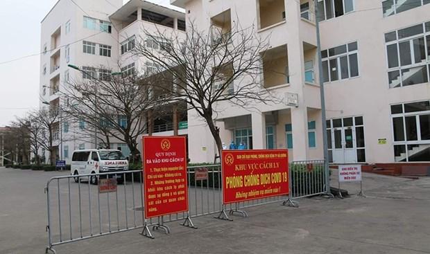 自7月22日0时起,河内对从疫区返乡人员进行集中隔离 hinh anh 1