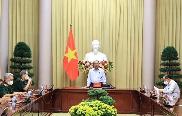 越南国家主席:知恩图报、缅怀先烈是越南民族饮水思源传统 hinh anh 1