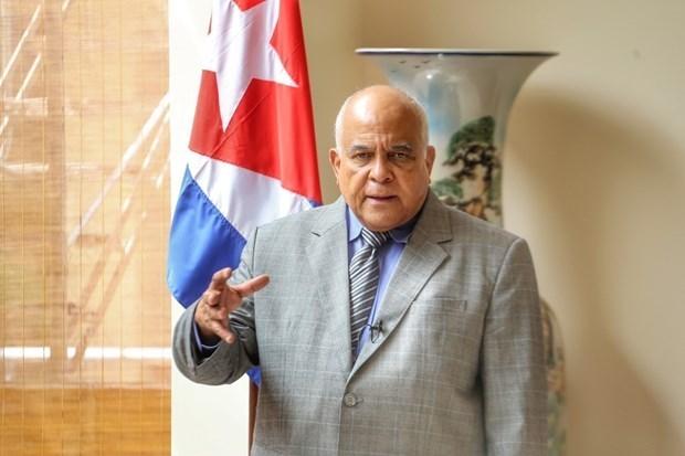 古巴大使高度评价越南的团结精神 hinh anh 1